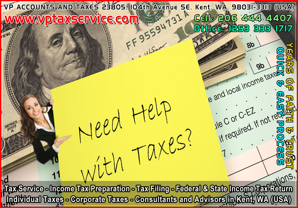 Tax Services in Kent wa income tax preparation service kent wa seattle usa