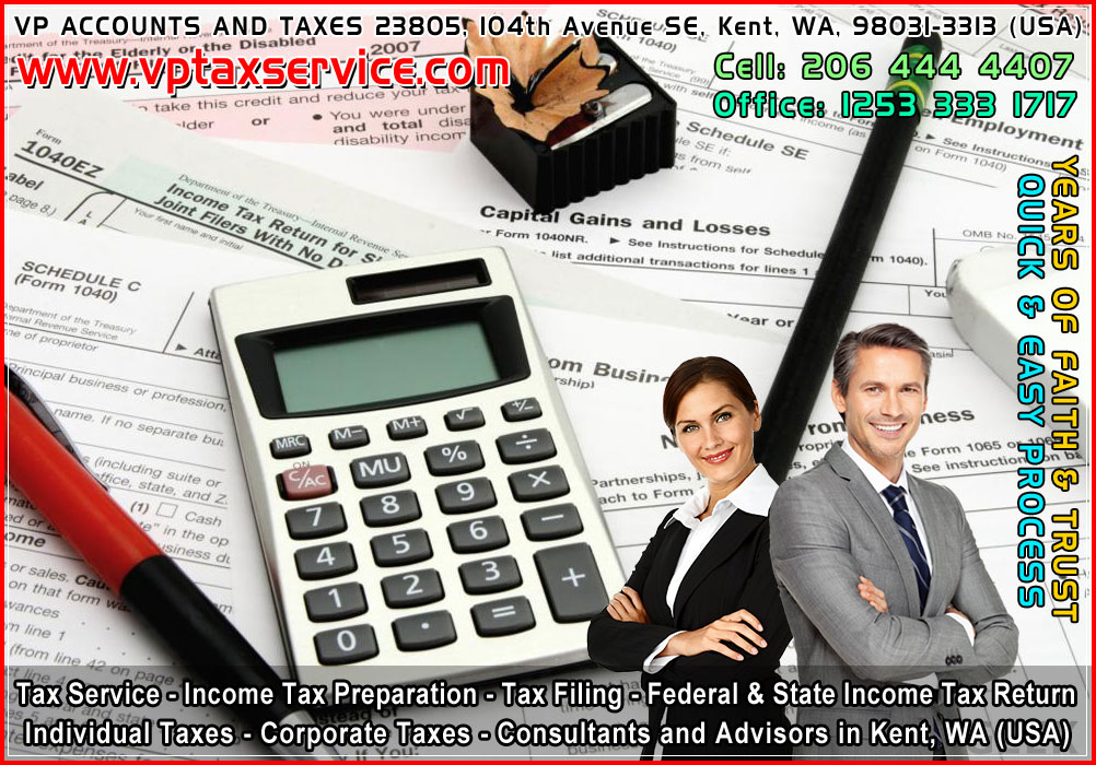 top income tax advisors in kent wa seattle best tax filing consultants in kent wa usa