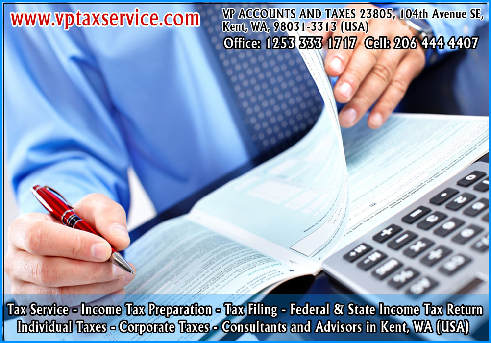 individual taxes kent wa, tax consultation kent wa seattle tax service in convington usa