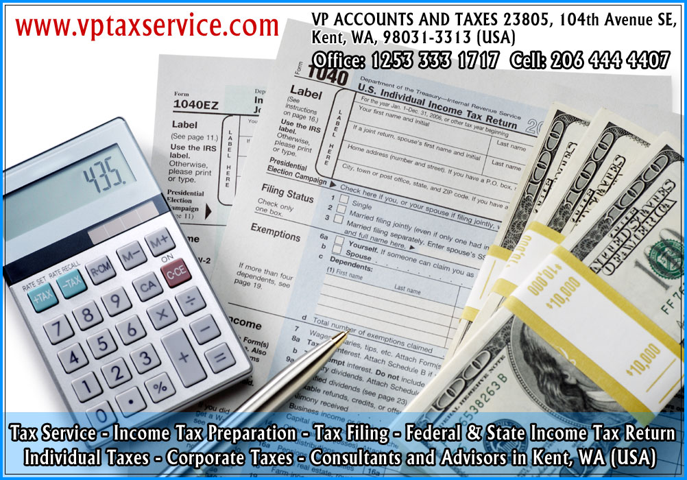 corporate tax return filing service corporate tax refund advisors in kent wa seattle usa